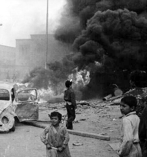 January 1977 Bread Uprising (Photo from Al-Ahram Archives)