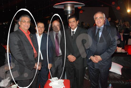 هشام الدفراوي وأحمد زكي بدر